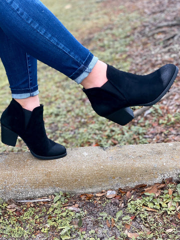 Megan Booties - Black