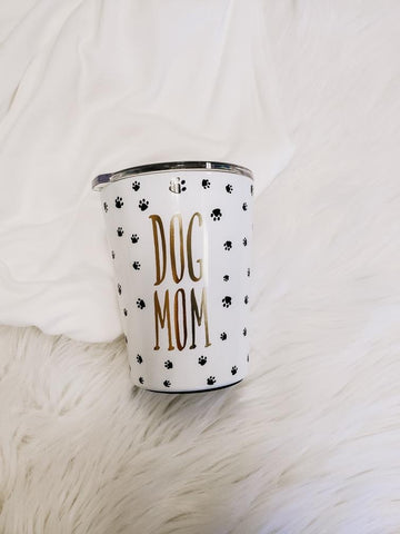 Dog Mom Stainless Tumbler
