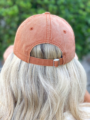 Mama Hat - Burnt Orange