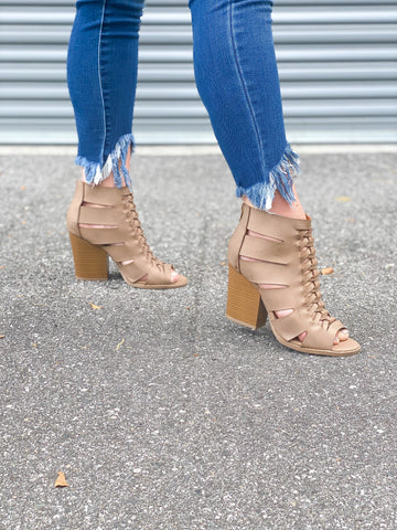 Missy Braided Booties