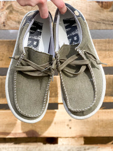 *Mens* Rhett Sneakers - Olive/Camo
