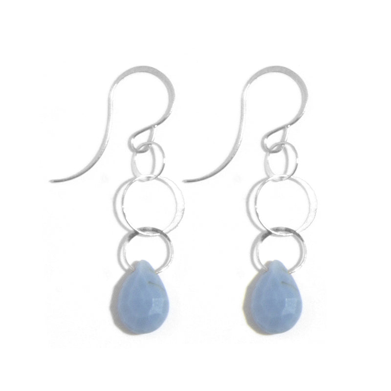 Opal Single Drop Earrings