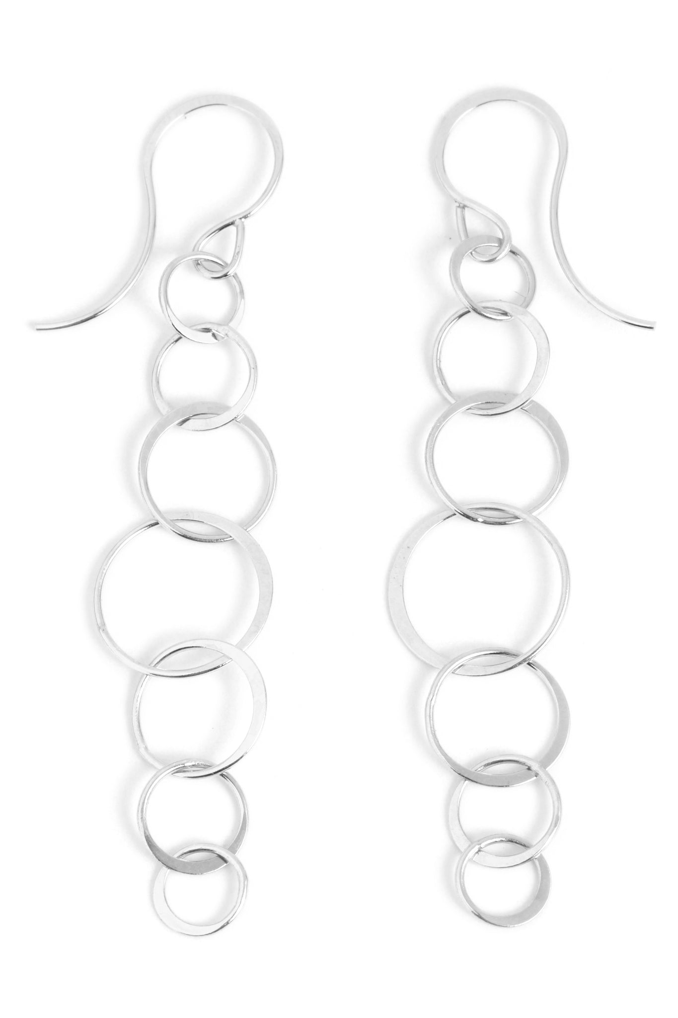 Long Lightweight Chain Earrings