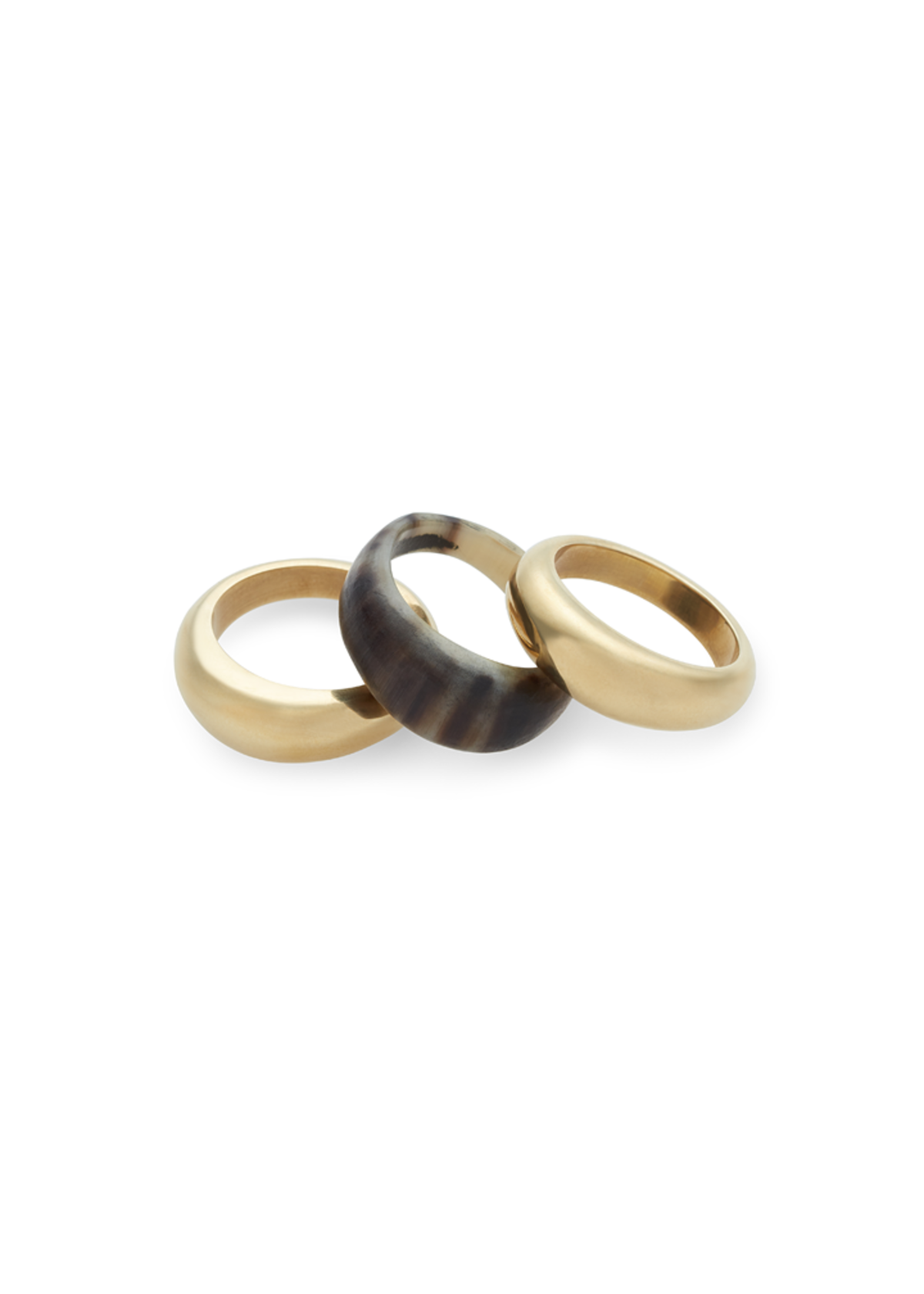 Mixed Material Stacking Rings
