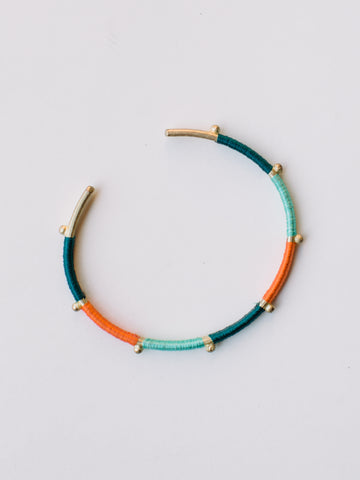 Vibrant Threads Bangle