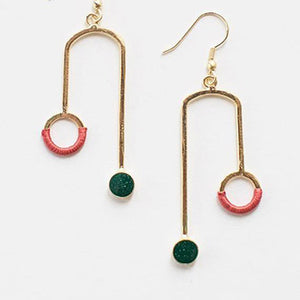 Kinetic Curve Earrings