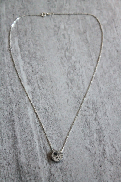 Sundial Necklace