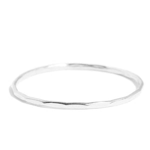 Thin Single Stacking Ring