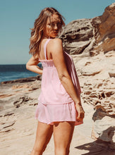Load image into Gallery viewer, Rumer Cotton/Linen Short Set Pink