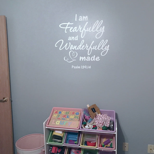 Building Self-Esteem: I am Fearfully and Wonderfully made.  Psalm 139:14