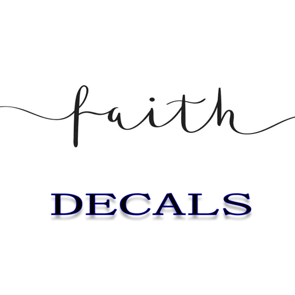 Religion - Faith Decals