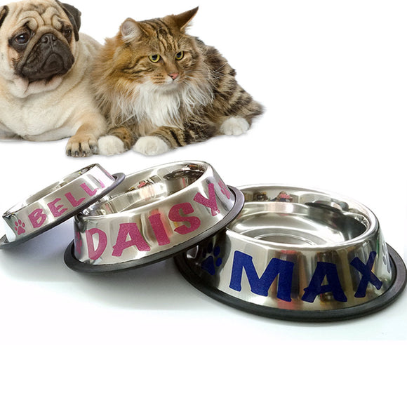 Custom Decals - Pet Bowls