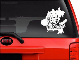 Decals - Stickers. Mexico: Mapa Hidalgo.  Map.