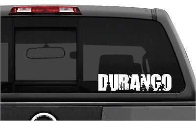 Mexico:  Emblema Durango. Car Decal - Sticker.