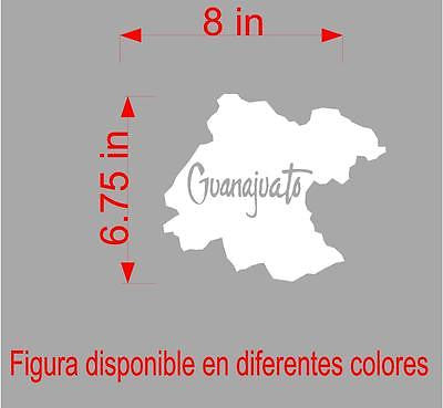 Spanish car decals laptop decal mapa guanajuato mxico map car decals laptop decal mapa guanajuato mxico map gumiabroncs
