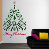 Tree Wall Decal. Christmas Decorations. Christmas Tree. Arbol Navideño.