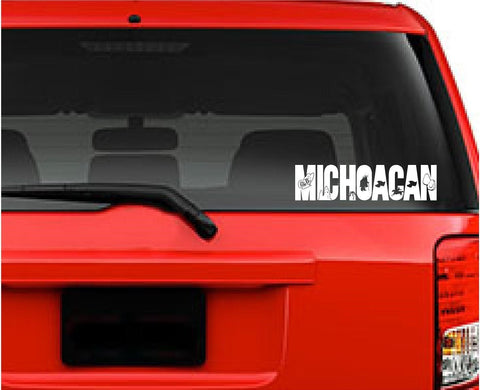 Emblema Michoacan, México. Car Decal - Sticker.