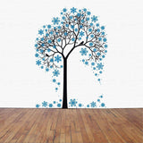 Tree Wall Decal. Christmas Decorations. The Snow tree.