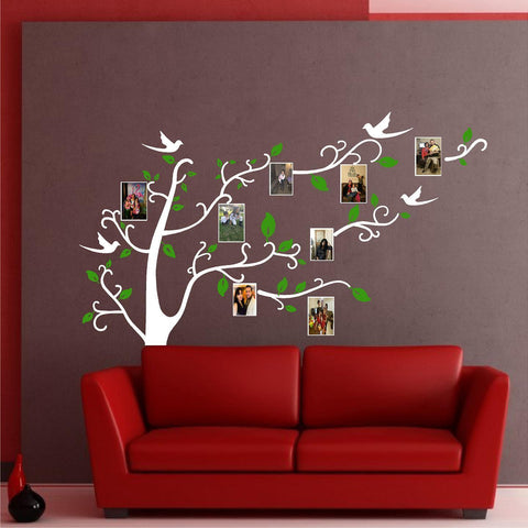 Tree Wall Decal. Photo Frame. Tree Branch. My Precious Memories.