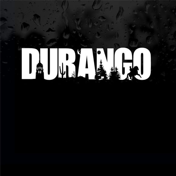 Decals - Stickers. Mexico:  Emblema Durango.