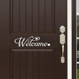 Wall Decal.  Wall Art. Vinyl Decal. Welcome Sign. 3 Display Options. 28in