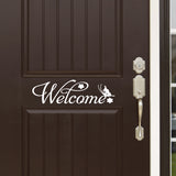 Wall Decal.  Wall Art. Vinyl Decal. Welcome Sign. 3 Display Options