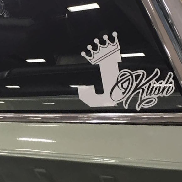 Decals - Stickers. J-Kush Decal.  In memory of Jennifer.