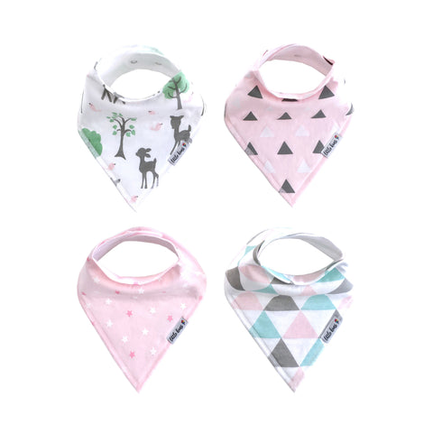 Organic Bandana Bibs - Enchanted Forest - Little Kims