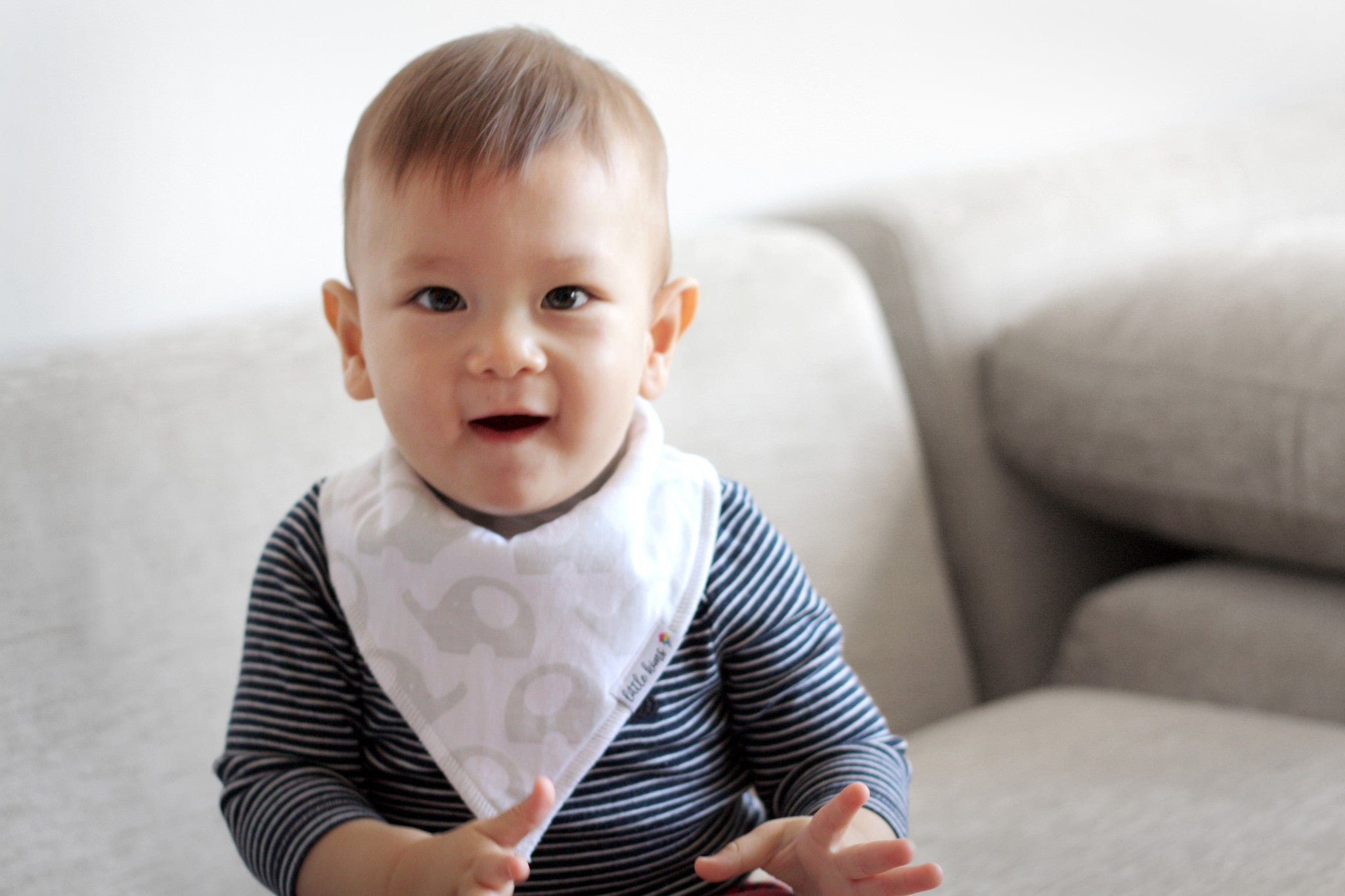 Organic Bandana Bibs - Little Explorer - Little Kims