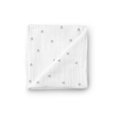 Muslin Swaddle Blanket - Pine Grove - Little Kims