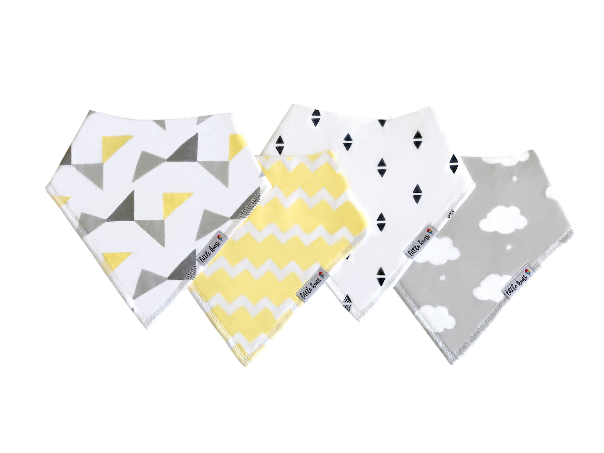 Organic Bandana Bibs - Sweet Dreams - Little Kims