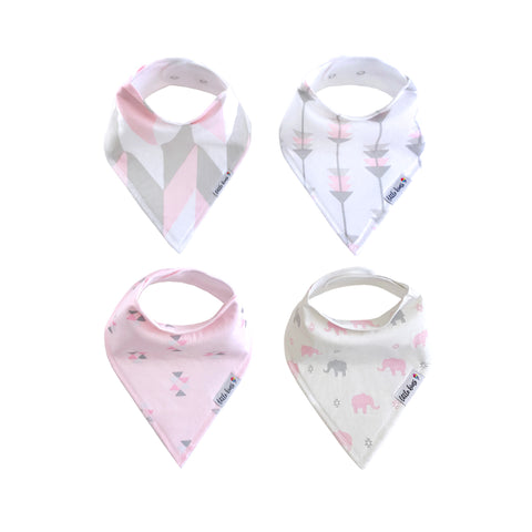 Organic Bandana Bibs - Urban Safari - Little Kims