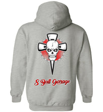 Skull & Cross Hoodie with Logo