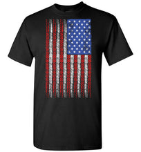 American Flag w/ 8 Ball Pin Up on Dark Shirts