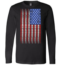American Flag w/ 8 Ball Pin Up (long sleeve)
