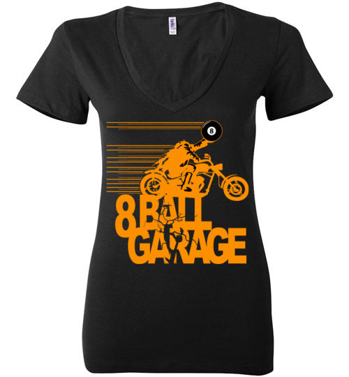 Ladies Steel Horseman Biker (orange)