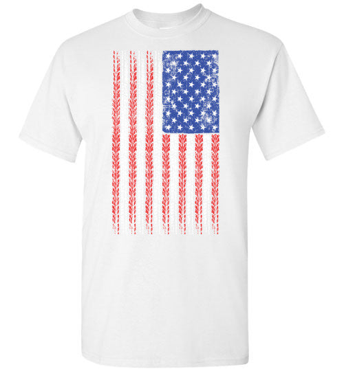 American Flag w/ 8 Ball Pin Up