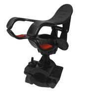 Handlebar mount motorcycle phone holder