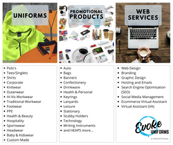 Web Services now available at Evoke Uniforms