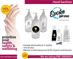 Hand sanitiser is coming!!