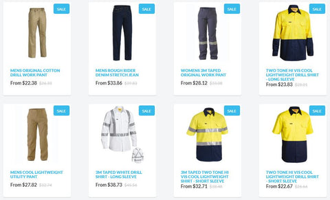 bisley workwear back to work sale 2020 1