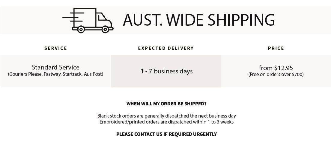 shipping info snippet