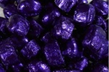 Chocolate Domes - Purple Foil - in 1KG Bag