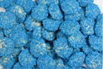 Blue Sparkles - White Choc Buds - in 1KG Bag