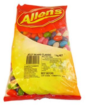 Allen's Jelly Beans in 1KG Bag