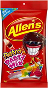 Allen's Retro Party Mix in 1KG Bag