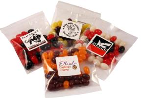 Mini Jelly Beans - Corporate Colours or Mixed - 50g Bag