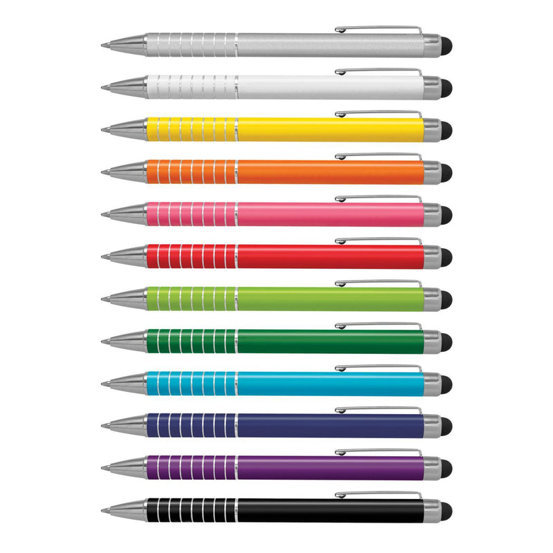 Touch Stylus Metal Pen - with 1 colour print or engraving
