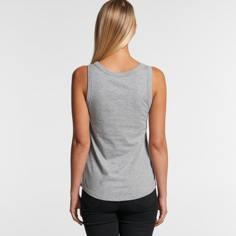 AS Colour 4004 Sunday Singlet Ladies-rear