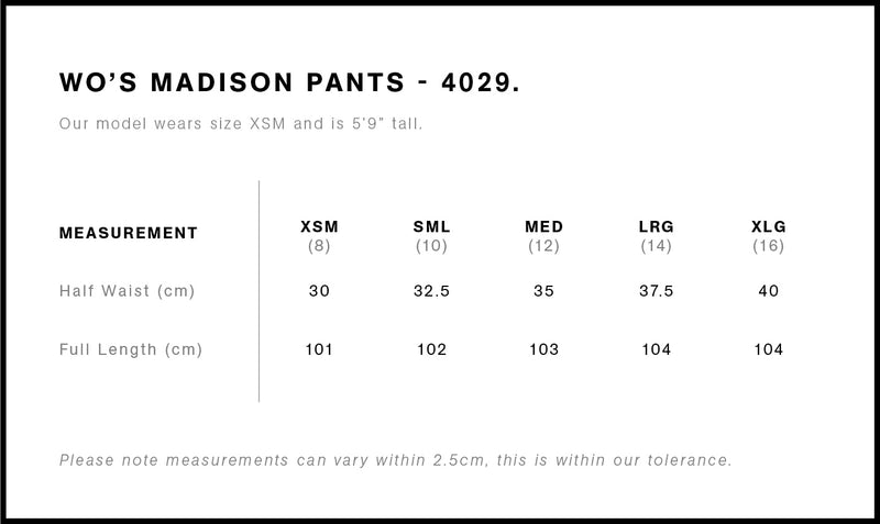 Madison Pants Ladies